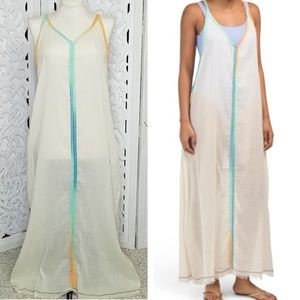 Z&L Europe Sea Gypsy Maxi Dress Swimsuit Cover Up